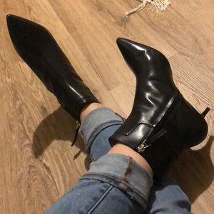 Zara Kittel Heel Booties
